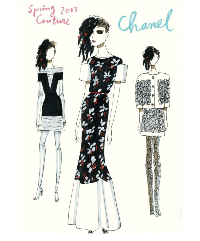 Postcards from Paris by Jordi Labanda | itfashion.com