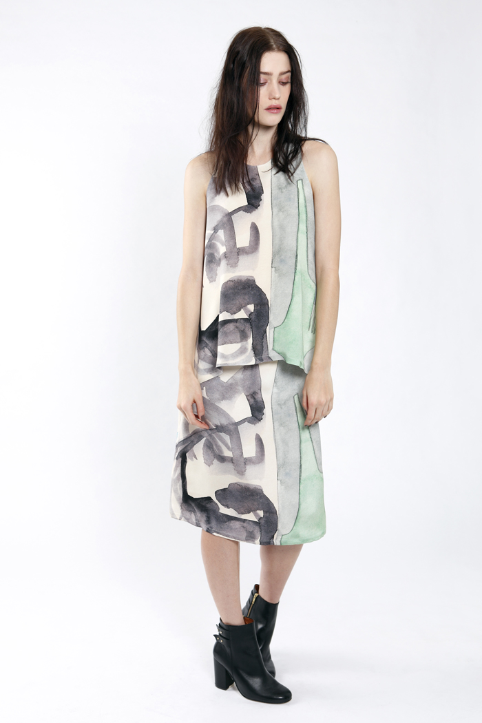 Partimi AW13 Brancusi Top and Esme Skirt