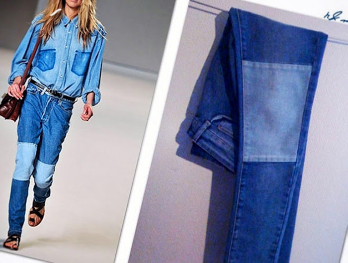 La tendencia Patchwork Denim