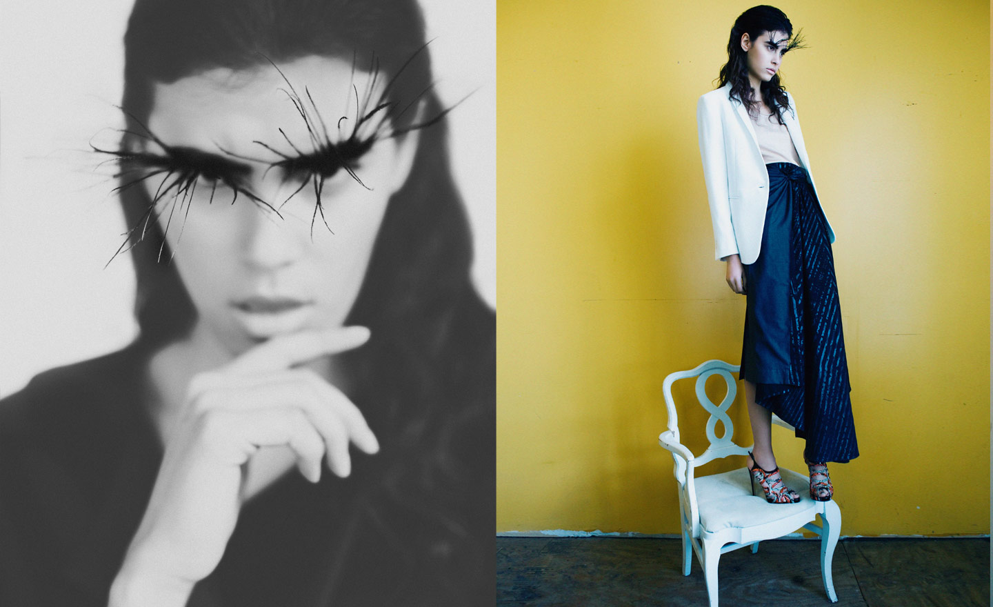 Bat for lashes by Eva Kruiper | itfashion.com