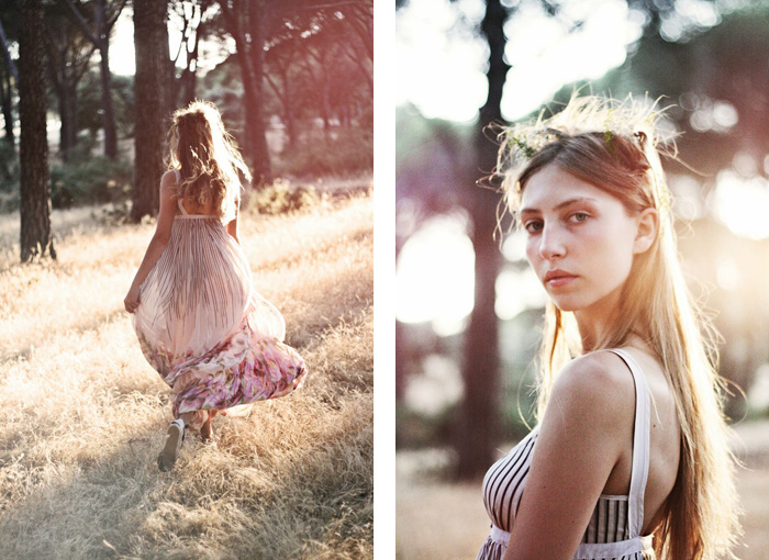 Blossom in the forest with Miqui Brightside | itfashion.com