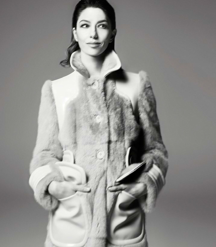 Sofia Coppola by Steven Meisel | itfashion.com