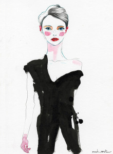 Conrad Roset ilustra la London Fashion Week | itfashion.com
