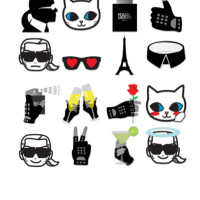 Los emojis de Karl | itfashion.com