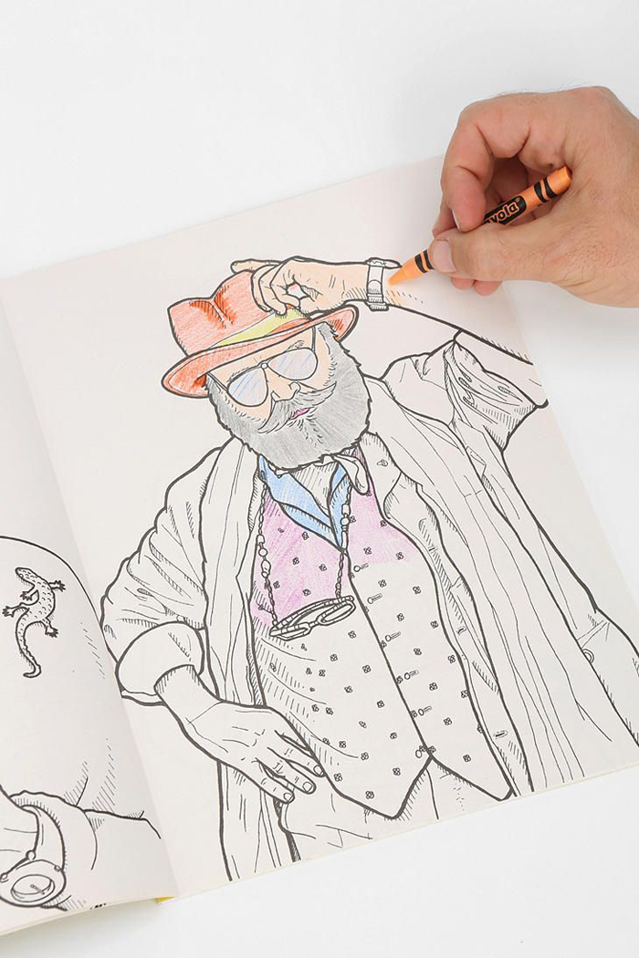 Advanced Style: The Coloring Book | itfashion.com