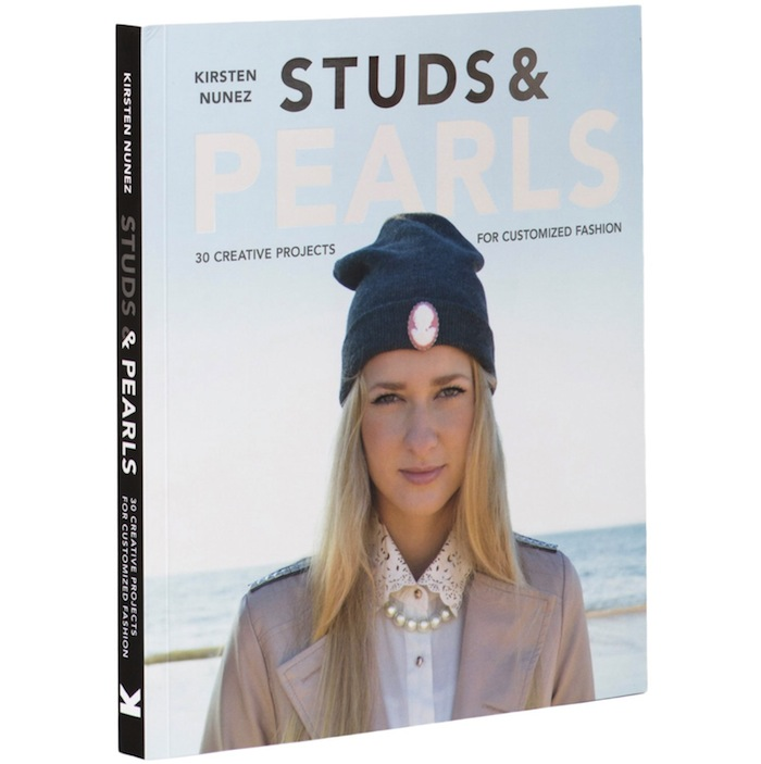 El libro DIY de Kirsten Nuñez: Studs and Pearls | itfashion.com