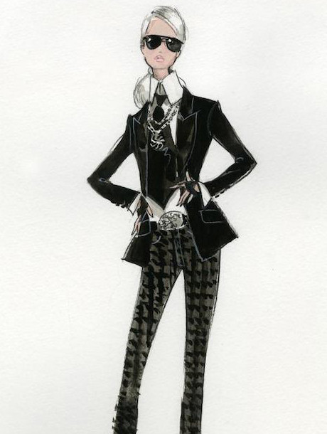 Barbie se viste de Karl Lagerfeld | itfashion.com
