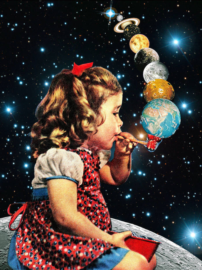 Los collages surrealistas de Eugenia Loli | itfashion.com