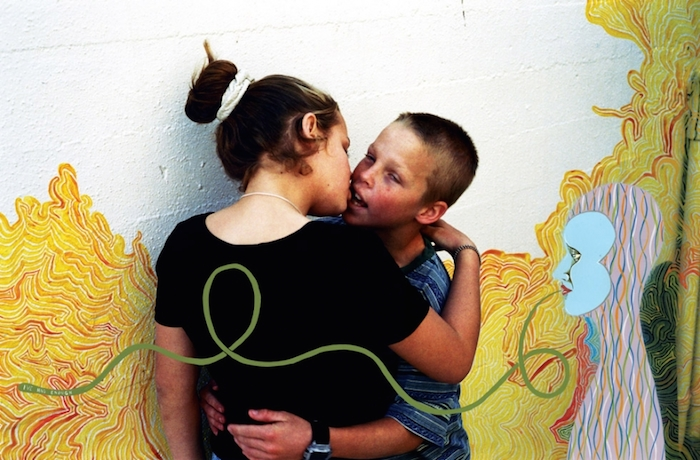 """Teenage Kisses"" de Ed Templeton 