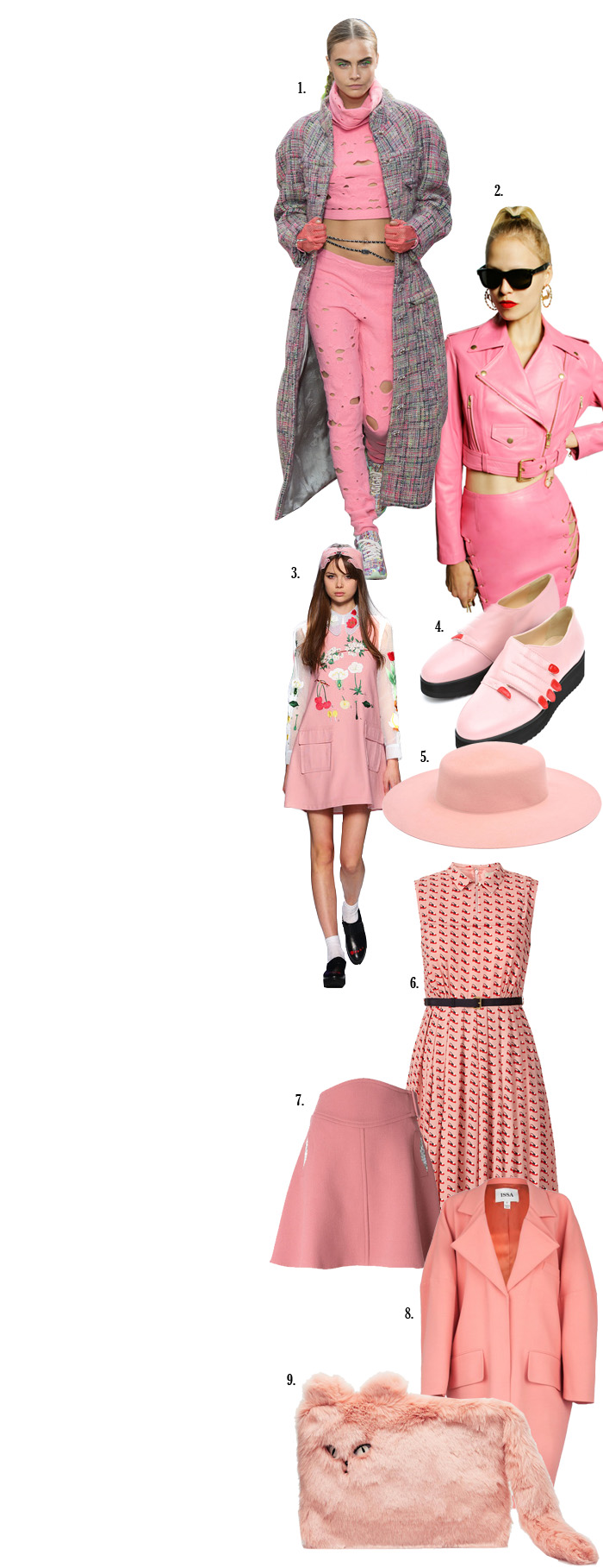 Hey girl, take a walk on the pink side | itfashion.com