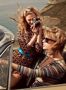 Taylor Swift vs. Karlie Kloss en la portada de VOGUE | itfashion.com