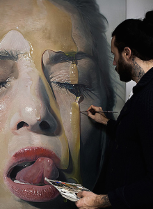 La espectacular técnica de Mike Dargas | itfashion.com