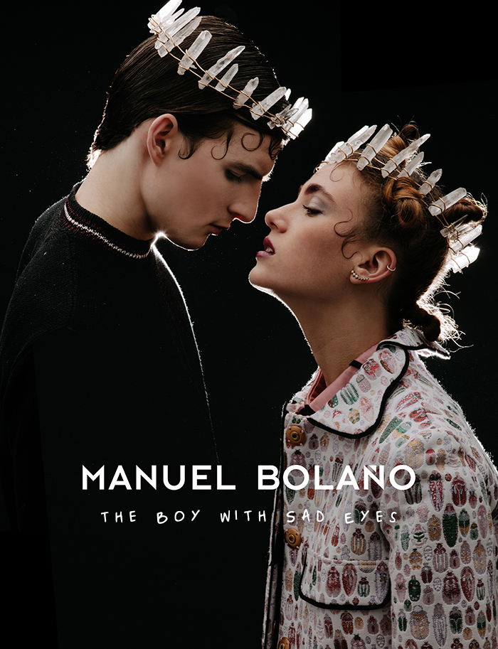 """The Boy with Sad Eyes"", la nueva colección de Manuel Bolaño 