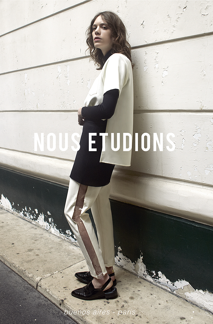 Brand New: NOUS ETUDIONS | itfashion.com