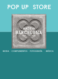 """Made in Bcn"", la tienda pop up de Studio 360º 