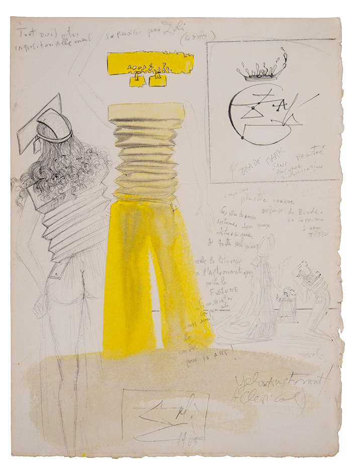 Dali.-Yellow-astronaut.-1965