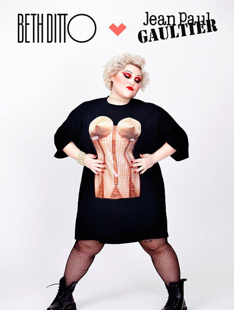 beth-ditto-jean-paul-gaultier-cover