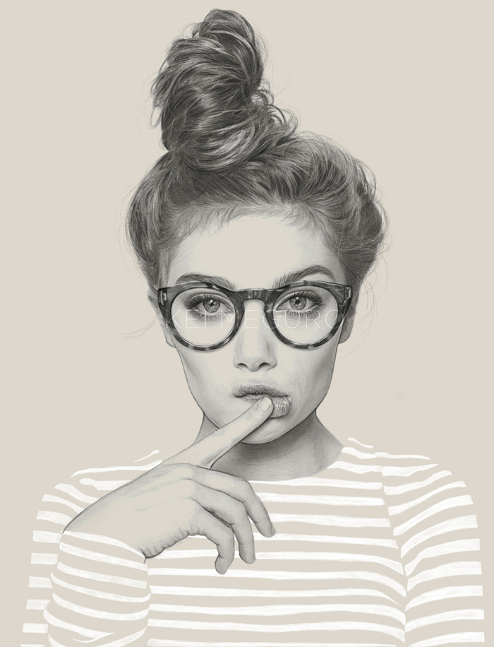 kei-meguro-amazing-pencil-illustration-portraits-6