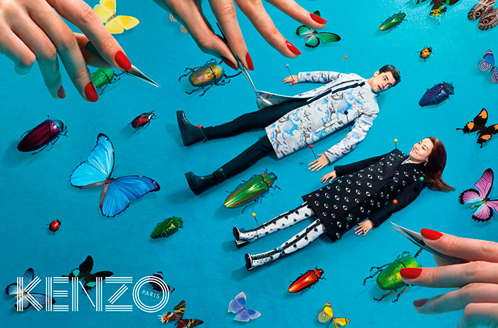KENZO_FW13_Campaign_-_insects_double