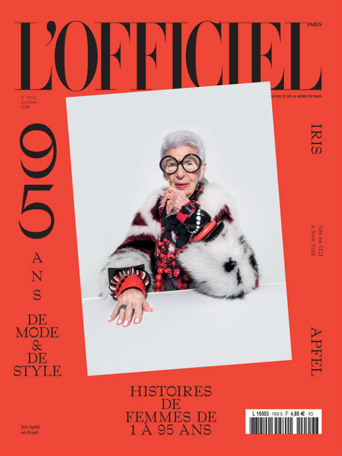 Iris Apfel L'Officiel