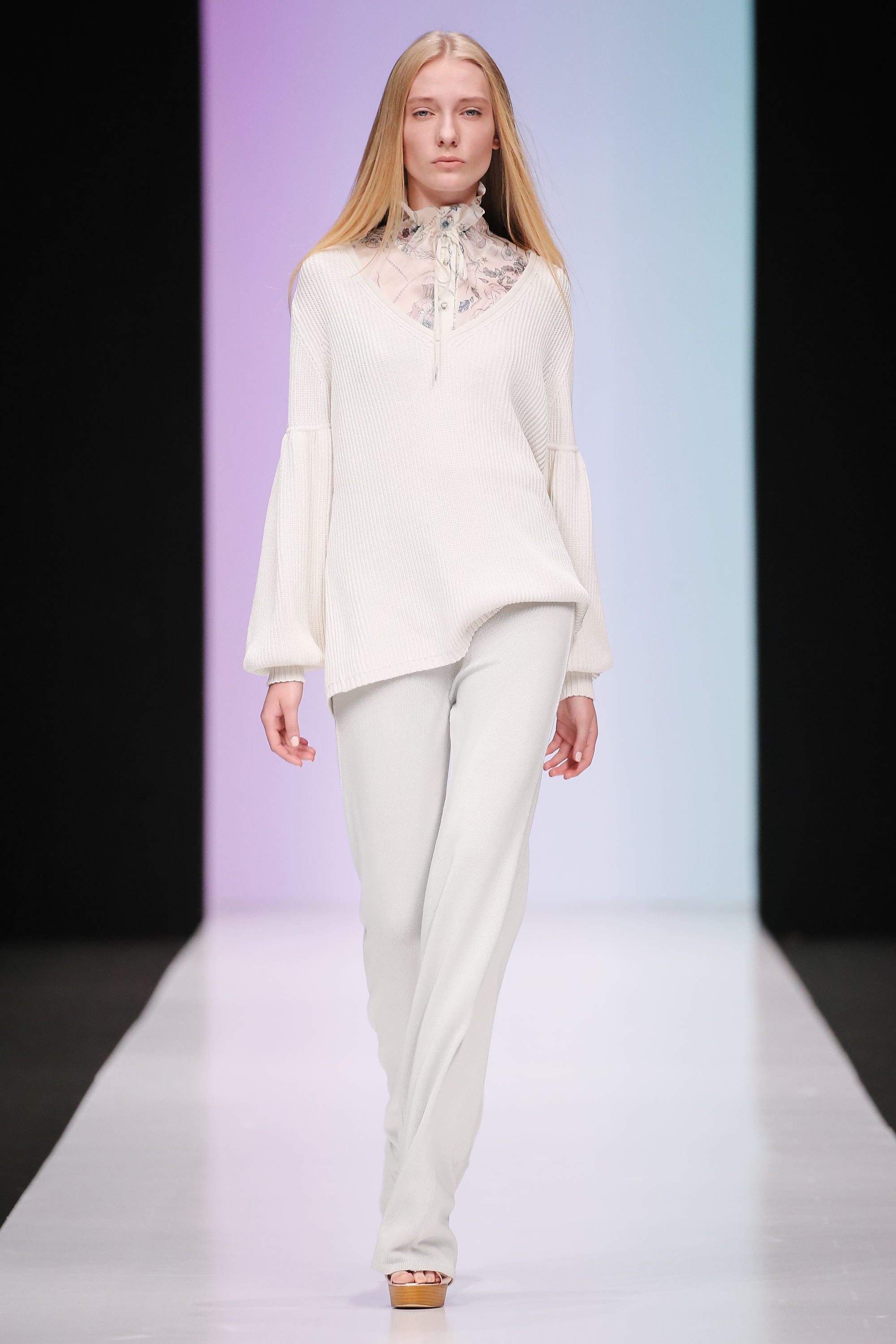 33rd Season of Mercedes-Benz Fashion Week Russia Day 2
