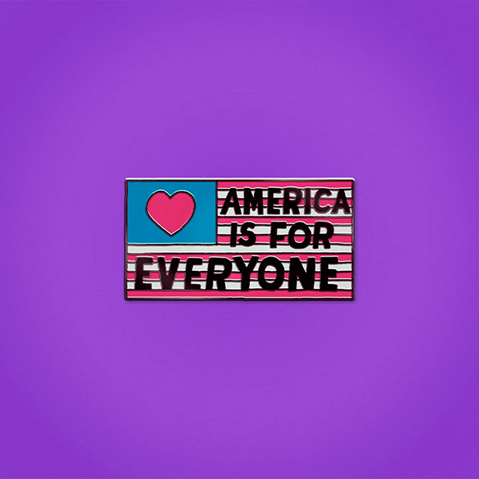 Sagmeister-Walsh-Trump-pin-badges_america-is-for-everyone