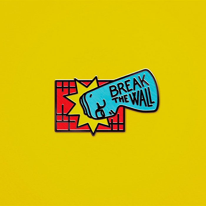 Sagmeister-Walsh-Trump-pin-badges_break-the-wall