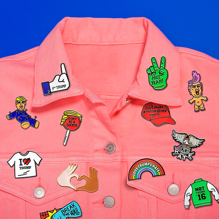 Sagmeister-Walsh-Trump_press-pins-collection