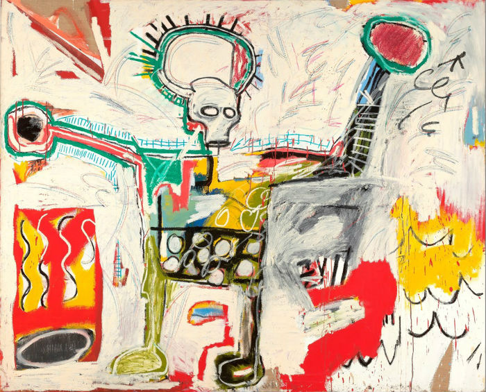 la mayor retrospectiva de Jean-Michel Basquiat_ Untitled 1982