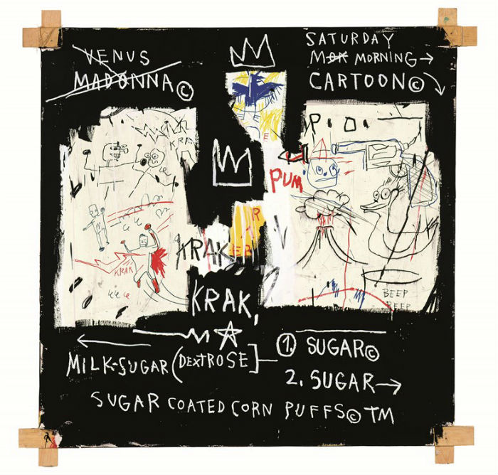la mayor retrospectiva de Jean-Michel Basquiat_A Panel of Experts 1982