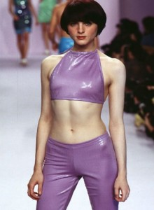 Anna Sui Spring 1996 - the red list_ ret