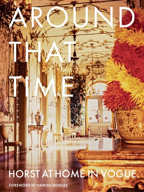 Around That Time Horst at home in Vogue_cover
