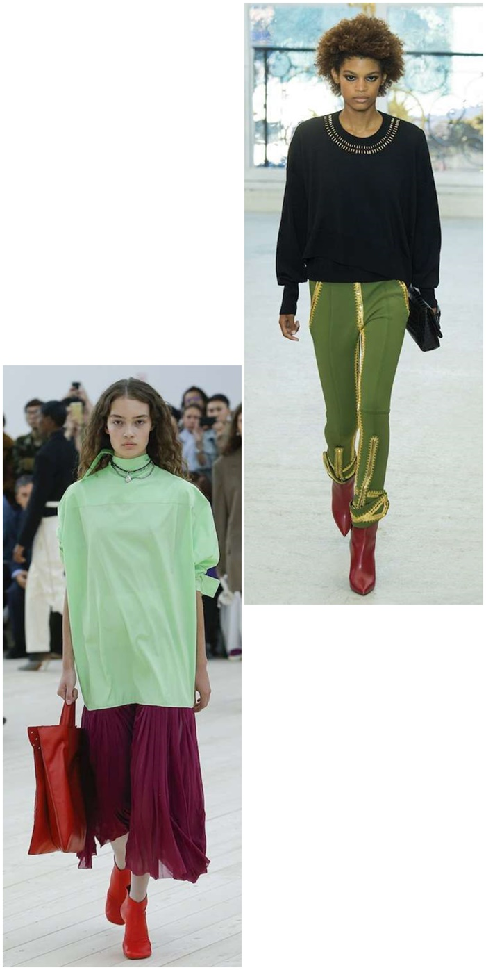 Celine y Louis Vuitton Greenery