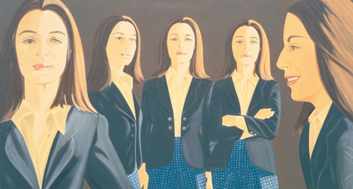 The Black Jacket (1972) by Alex Katz