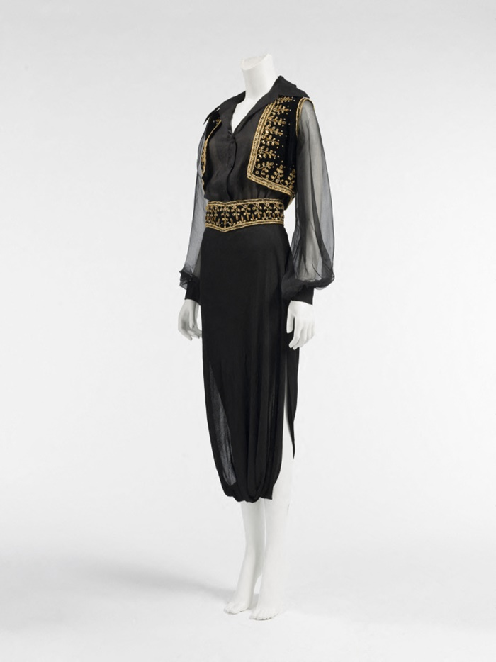 An item from Dalida's wardrobe on exhibition at Palais Galleria