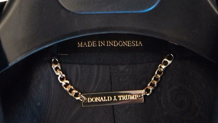 Donald Trump made in USA