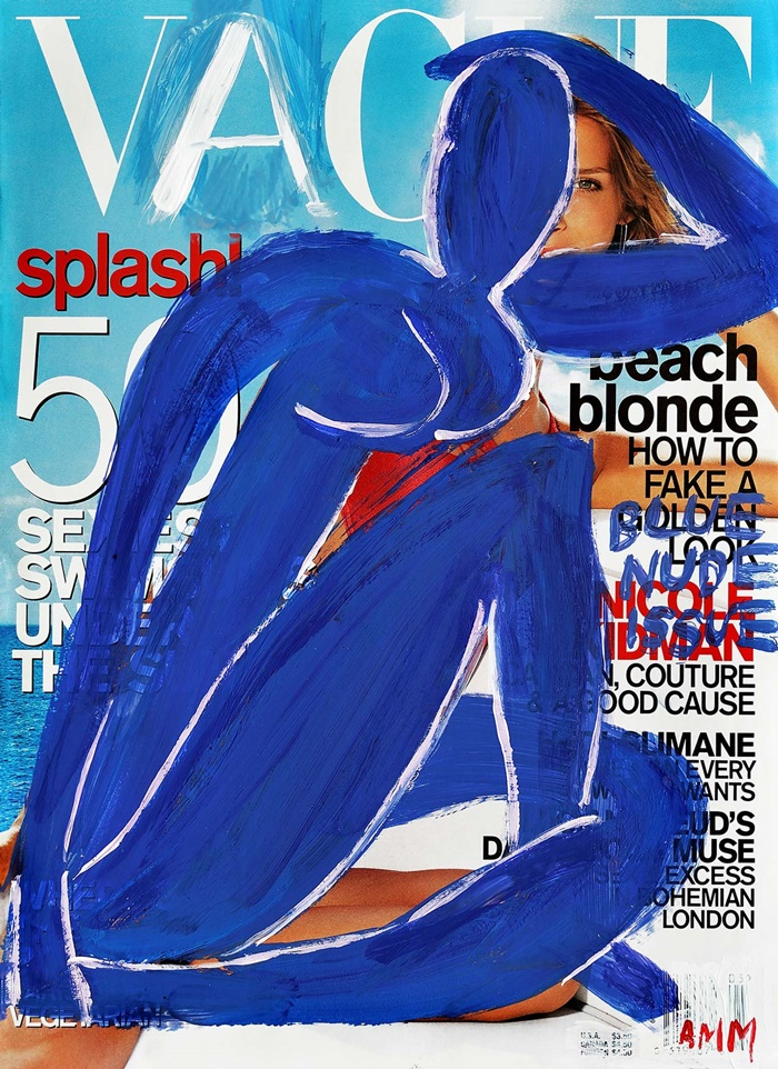 The Blue Nude Issue, 2016