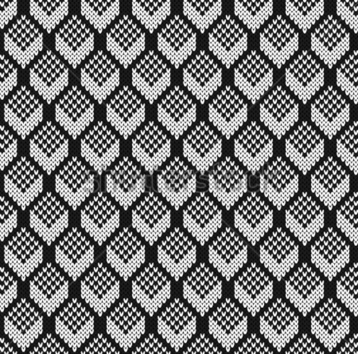stock-vector-black-and-white-jacquard-seamless-knitting-pattern-442614871
