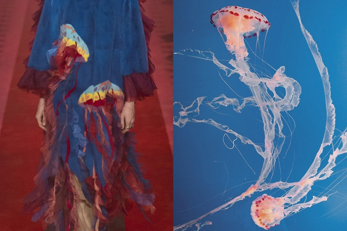 Details at Gucci Spring 2017 _ Jellyfish