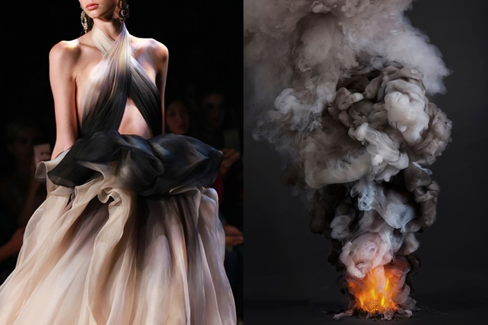 Marchesa Spring 2017 _ CONTROLLED BURNS (series) by Kevin Cooley