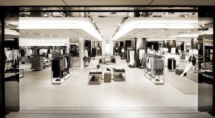 Zara flagship store in Hong Kong