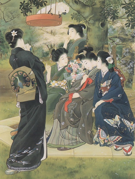 cover the bride-to-be 1907 kiyokata kaburagi