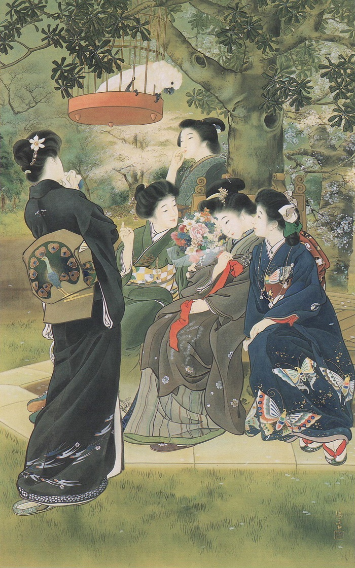 the bride-to-be 1907 kiyokata kaburagi