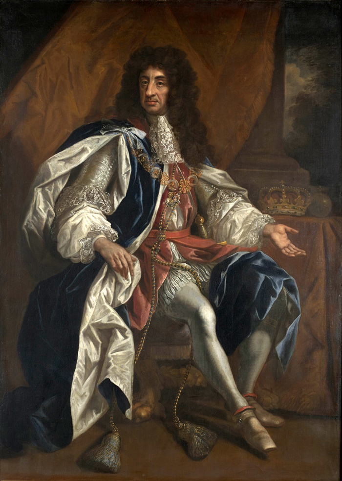 1660_Portrait of King Charles II of England, Scotland and Ireland by Thomas Hawker, 1660