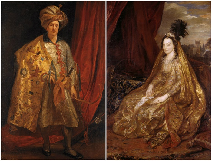 1662_Sir Robert Shirley and Lady Shirley by Anthony van Dyck, 1622