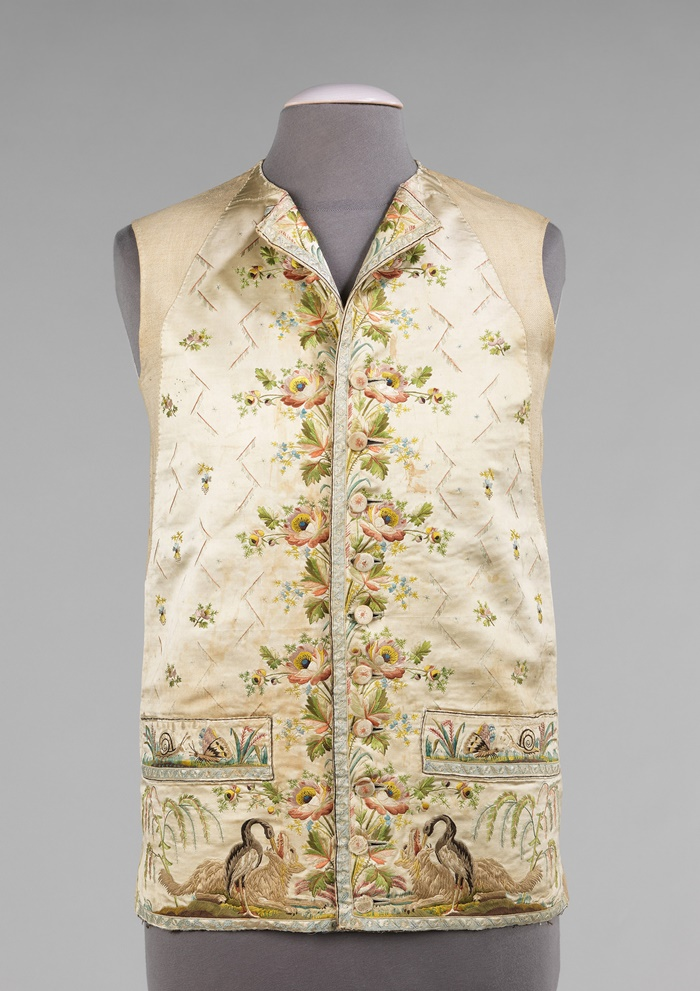 1780. French silk, cotton. metmuseum
