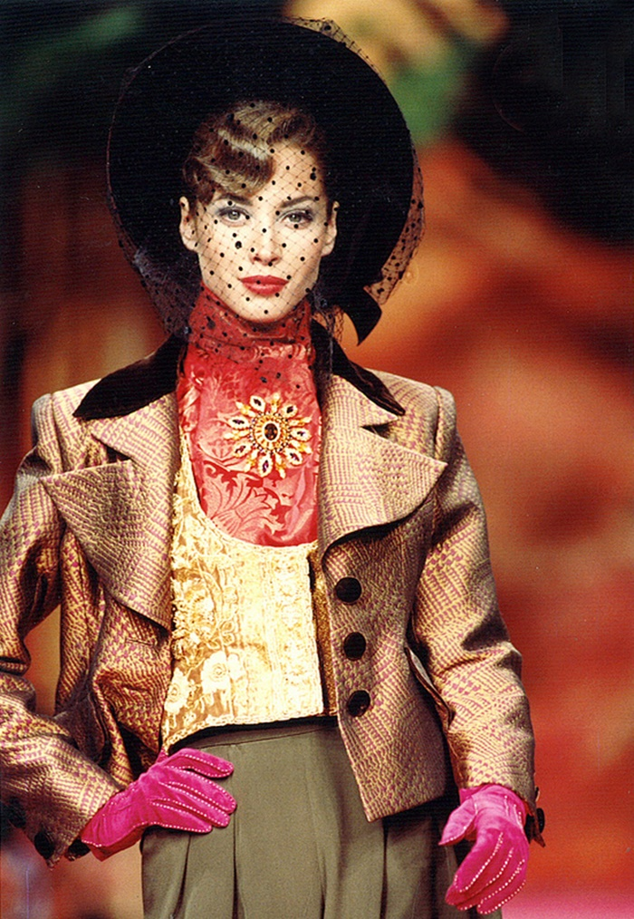 Christy Turlington for Christian Lacroix Fashion Show, FallWinter 1991