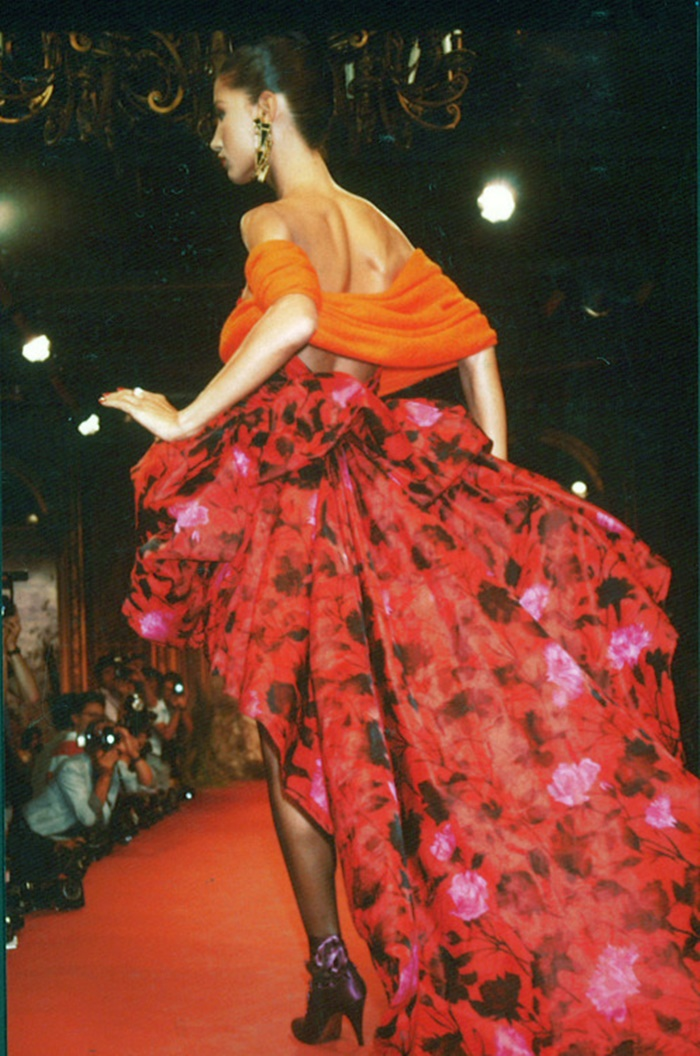 Marpesssa for Christian Lacroix Fashion Show, FallWinter 1987