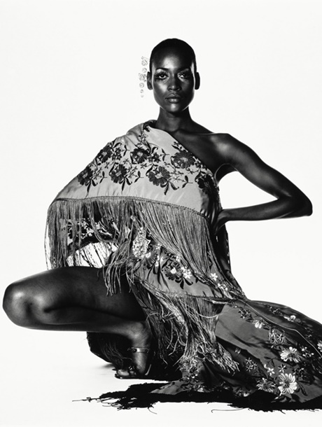 cover Naomi Sims In Scarf. NY 1969