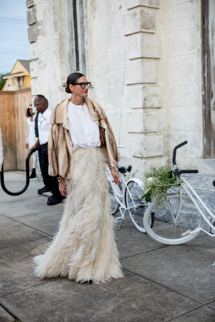 Jenna Lyons Solange wedding